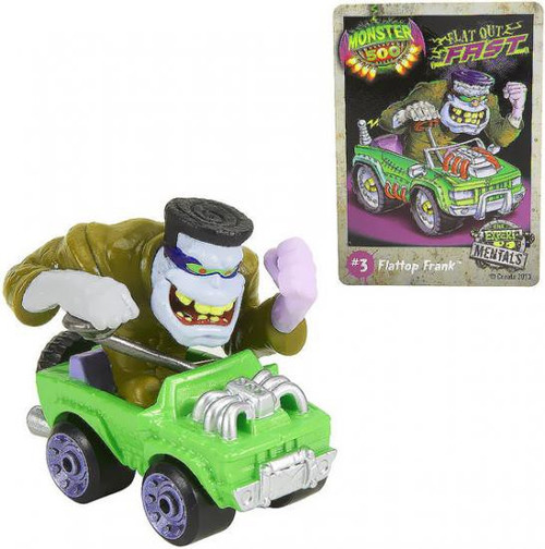 Monster 500 Small Car Flattop Frank Vehicle Figure