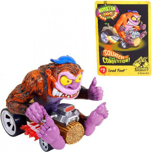 Monster 500 Large Car Lead Foot Vehicle Figure