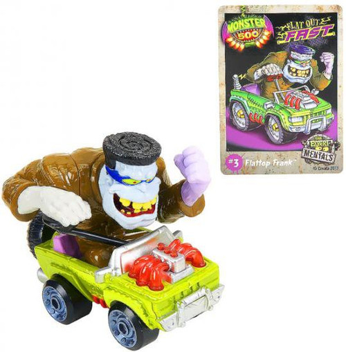 Monster 500 Large Car Flattop Frank Vehicle Figure