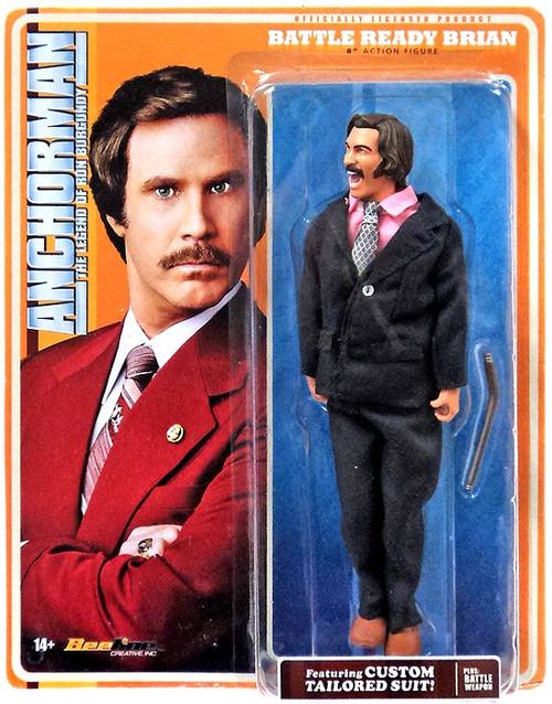 Anchorman Battle Ready Brian Fontana Action Figure