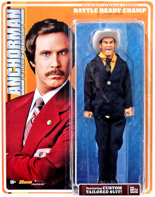Anchorman Battle Ready Champ Kind Action Figure
