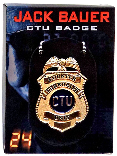 24 Jack Bauer CTU Badge Prop Replica