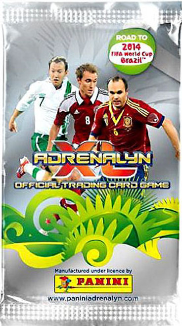 Road To 2014 FIFA World Cup Brazil Adrenalyn XL Booster Pack