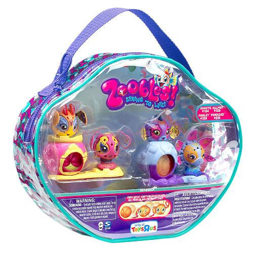 Zoobles Gift Pack Vinyl Carry Case Exclusive