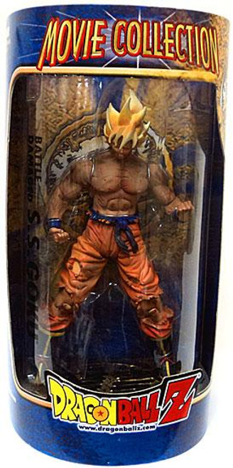 Dragon Ball Z Movie Collection Battle Damaged Goku Action Figure