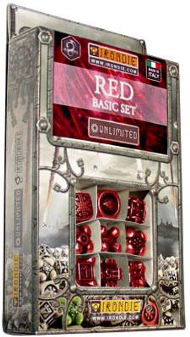 IronDie Unlimited Red Basic Starter Set