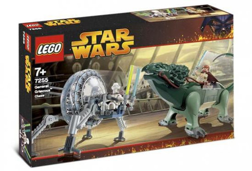 LEGO Star Wars Revenge of the Sith General Grievous Chase Set #7255