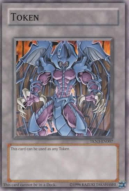 YuGiOh Promo Token Cards Common Raviel, Lord of Phantasms TKN3-EN007