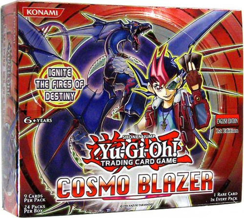 YuGiOh Cosmo Blazer (1st Edition) Booster Box [24 Packs] [Sealed]
