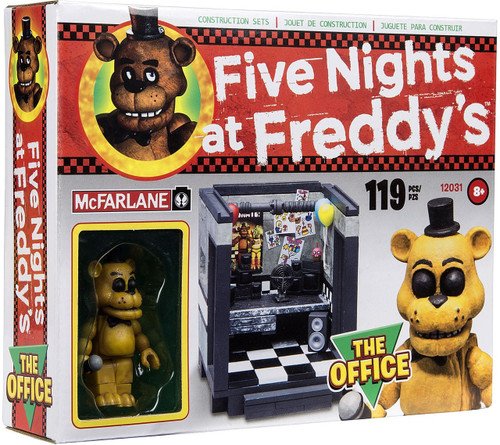 Lego 5 Nights At Freddy S Toys : Mcfarlane toys five nights at freddys the office exclusive