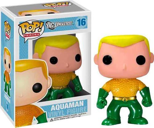 DC Universe Funko POP! Heroes Aquaman Vinyl Figure #16