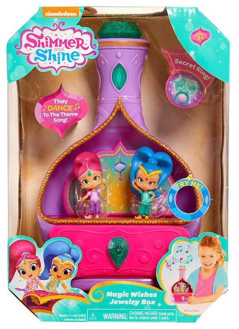 fisher price shimmer shine magic wishes jewelry box toywiz