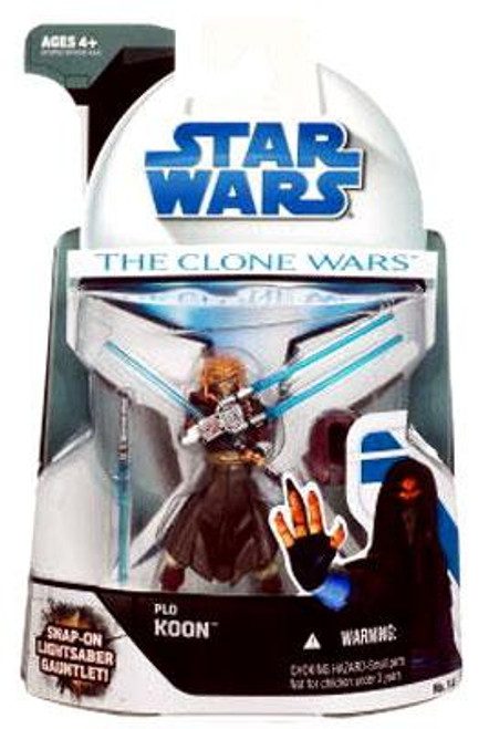 Star Wars The Clone Wars Clone Wars 2008 Plo Koon Action Figure #14