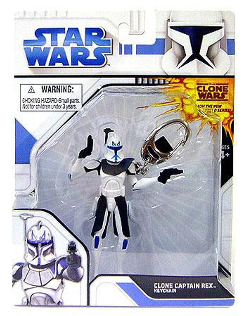 Star Wars The Clone Wars Clone Captain Rex Keychain