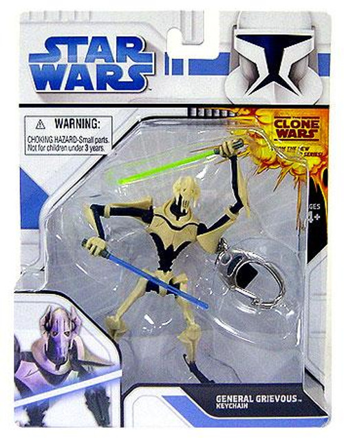 Star Wars The Clone Wars General Grievous Keychain