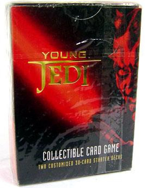Star Wars The Phantom Menace Young Jedi CCG Darth Maul Starter Deck