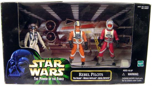 Star Wars Return of the Jedi Power of the Force POTF2 Deluxe Rebel Pilots Action Figure