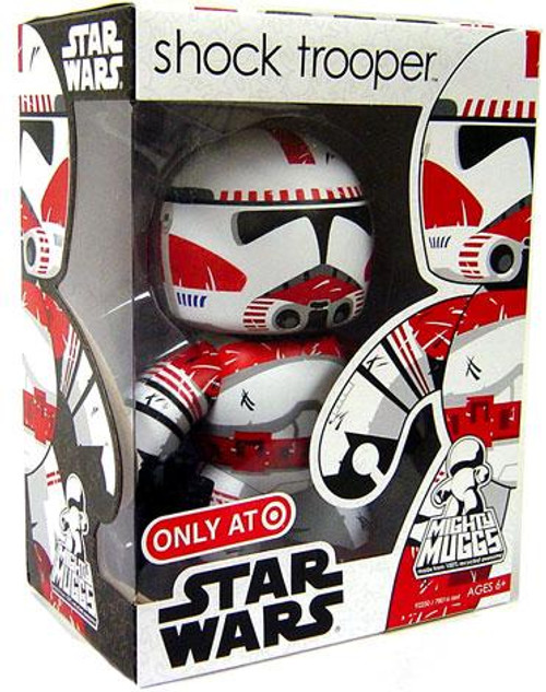 Star Wars Revenge of the Sith Mighty Muggs Exclusives Shock Trooper Exclusive Vinyl Figure