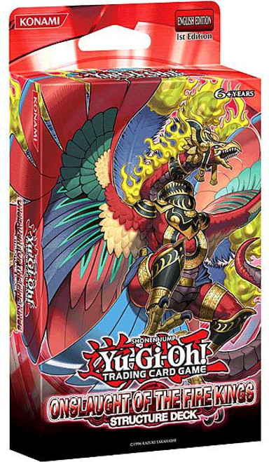 YuGiOh Structure Deck: Onslaught of the Fire Kings Onslaught of the Fire Kings Structure Deck [1st Edition] [Sealed Deck]