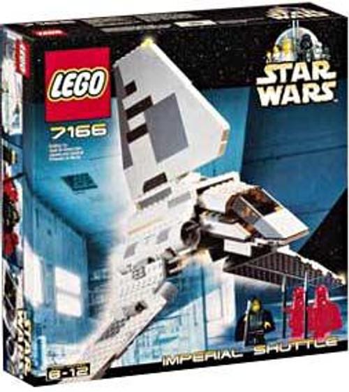 LEGO Star Wars Return of the Jedi Imperial Shuttle Set #7166