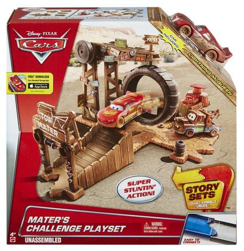 Disney Cars Story Sets Maters Challenge Playset Mattel