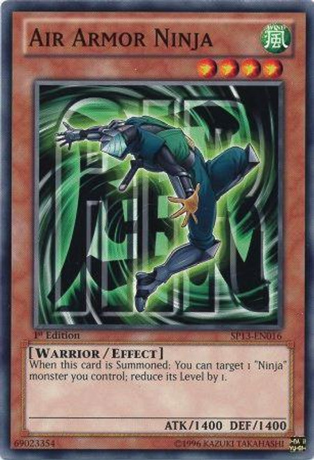 YuGiOh Star Pack 2013 Common Air Armor Ninja SP13-EN016