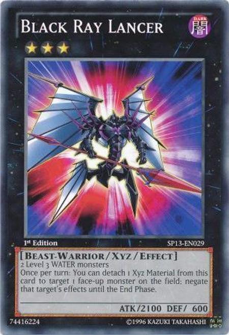 YuGiOh Star Pack 2013 Common Black Ray Lancer SP13-EN029