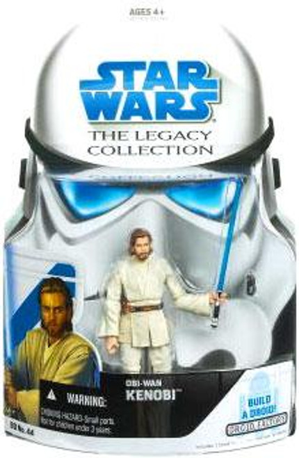 Star Wars Attack of the Clones Legacy Collection 2008 Droid Factory Obi-Wan Kenobi Action Figure [Episode II]