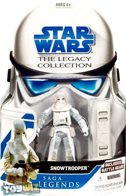 Star Wars Empire Strikes Back Legacy Collection 2008 Saga Legends Snowtrooper Action Figure SL25