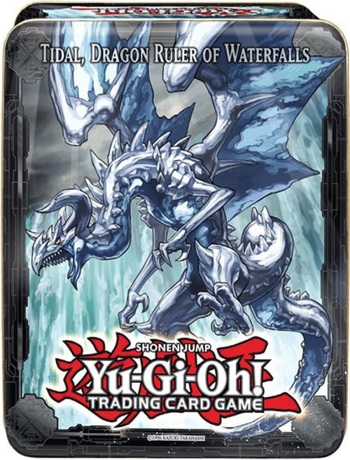 YuGiOh 2013 Collector Tin Tidal, Dragon Ruler of Waterfalls Collector Tin [Sealed]