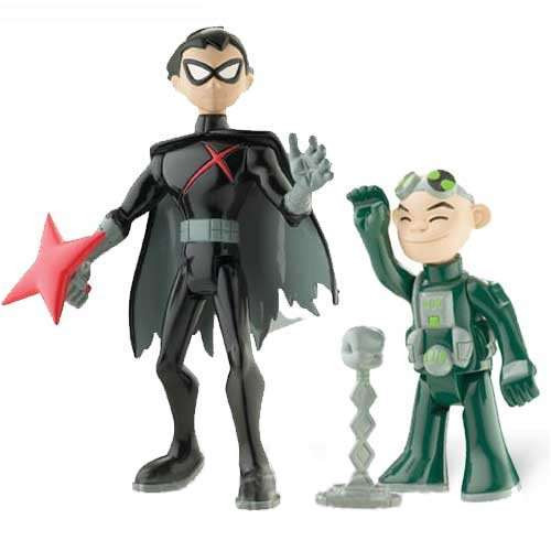 Teen Titans Toys Action Figures : Teen titans go gizmo red robin action figure pack