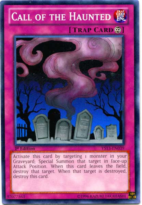 YuGiOh 2013 Super Starter: V for Victory Common Call of the Haunted YS13-EN039