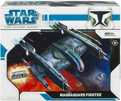 Star Wars The Clone Wars Vehicles 2008 Magna Guard Fighter Action Figure Vehicle