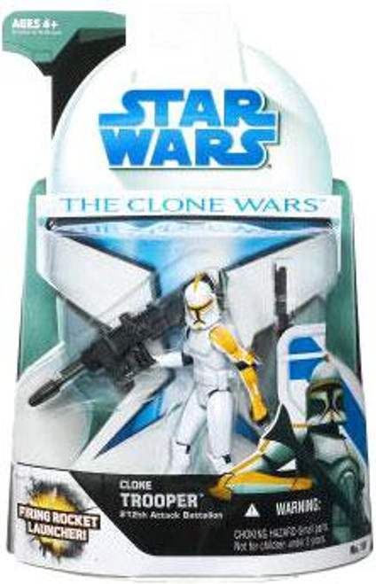 Star Wars The Clone Wars Clone Wars 2008 Clone Trooper 212th Attack Battalion Action Figure #19