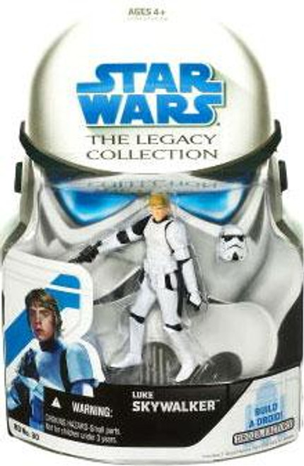 Star Wars A New Hope Legacy Collection 2008 Droid Factory Luke Skywalker Action Figure BD30 [Stormtrooper]