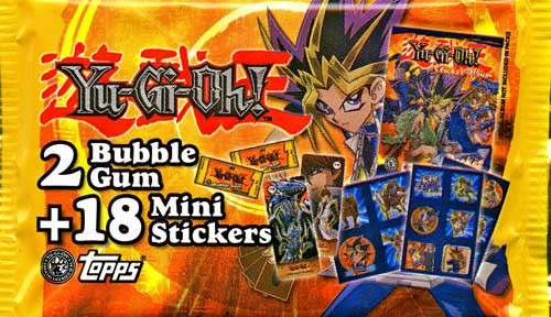 YuGiOh Pocket Collection Sticker Pack