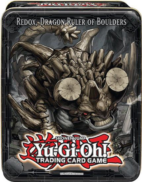 YuGiOh 2013 Collector Tin Redox, Dragon Ruler of Boulders Collector Tin [Sealed]