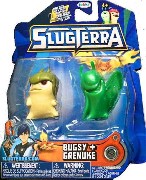 Slugterra Series 3 Mucky /& Flaringo Mini Figure 2-Pack