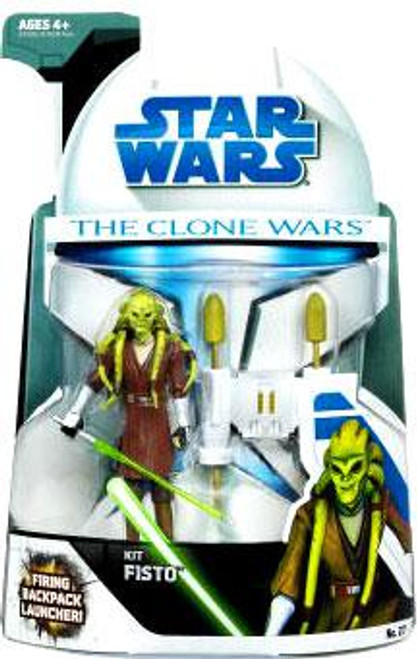 Star Wars The Clone Wars Clone Wars 2008 Kit Fisto Action Figure #27