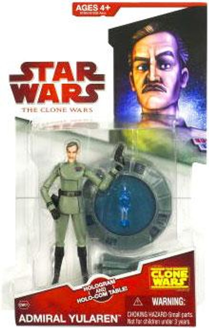 Star Wars The Clone Wars Clone Wars 2009 Admiral Yularen Action Figure CW07