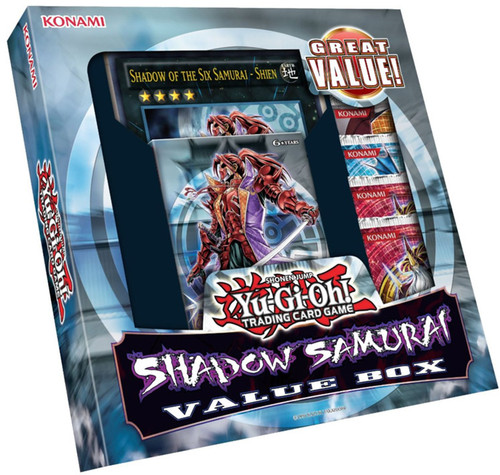 YuGiOh YuGiOh Zexal Shadow Samurai Value Box [Sealed]