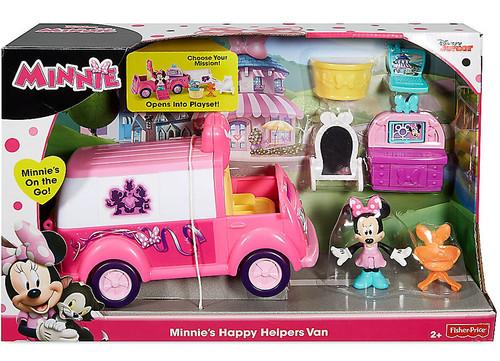 Fisher Price Disney Minnie Mouse Minnies Happy Helpers Van