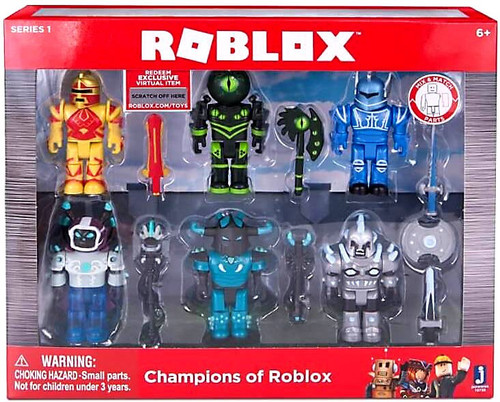 Roblox Series 1 Champions Of Roblox Action Figure 6-Pack
