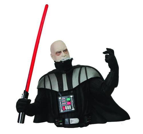 Star Wars Return of the Jedi Darth Vader Unmasked Vinyl Bust Bank