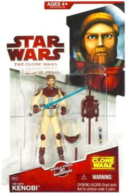 Star Wars The Clone Wars Clone Wars 2009 Obi-Wan Kenobi Action Figure CW12 [Space Suit]
