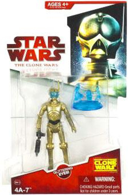 Star Wars The Clone Wars Clone Wars 2009 4A-7 Action Figure CW13