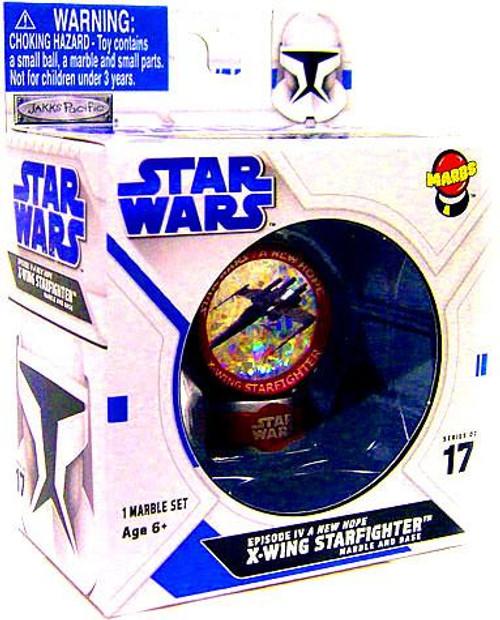 Star Wars A New Hope Jakks Pacific X-Wing Starfighter Marble #17