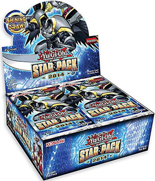 YuGiOh Star Pack 2014 Booster Box [Sealed]