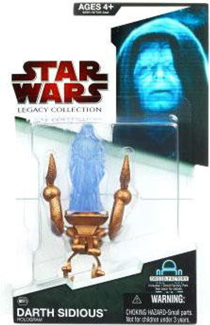 Star Wars The Phantom Menace Legacy Collection 2009 Droid Factory Darth Sidious Action Figure BD10 [Hologram]