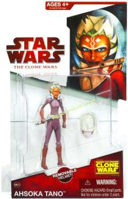 Star Wars The Clone Wars Clone Wars 2009 Ahsoka Tano Action Figure CW23 [Space Suit]